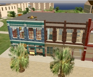 Strand Buildings in Second Life