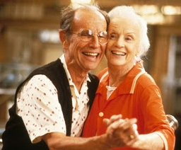 Hume Cronyn and Jessica Tandy in Cocoon