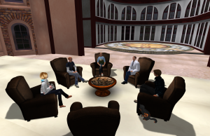 Virtual Learning Committee Meeting in Old Red