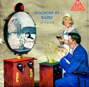 diagnosis by radio