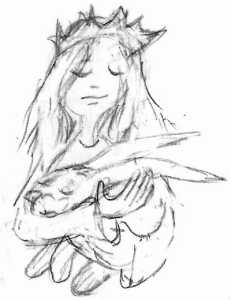girl-hare